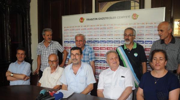 Trabzon'da Demirtaş'a Destek Açıklaması