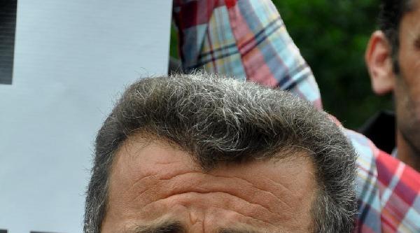 Trabzon'da Dere İçinde Hes Protestosu