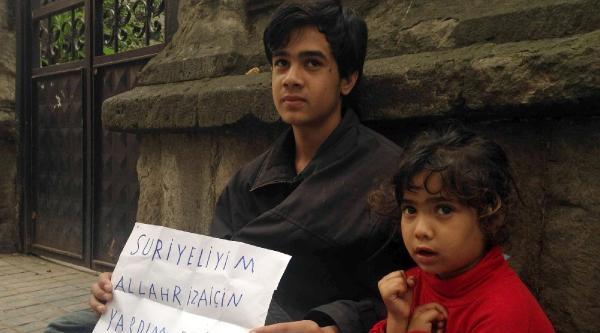 Trabzon'da Dilenen Suriyeliler Kamplara Gönderilecek