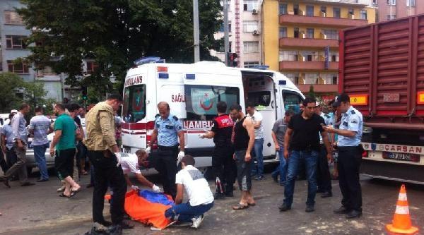Trabzon'da Kaza: 1 Ölü