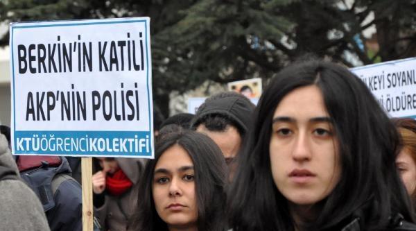 Trabzon'da Lise Ve Üniversite Öğrencileri Berkin Elvan İçin Toplandı