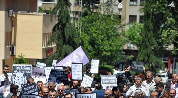 Trabzon'da Soma İçin Protesto Yürüyüşü