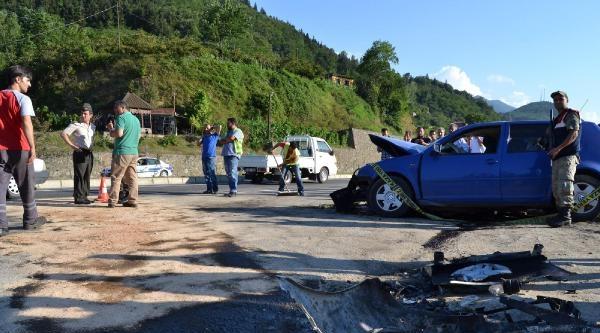 Trabzon'da Trafik Kazası: 4 Ölü, 4 Yaralı