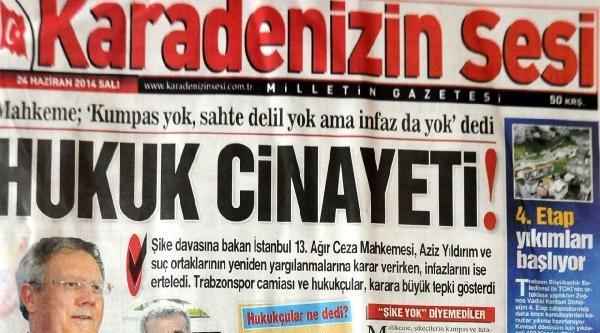 Trabzon'da Yeniden Yargılama Kararına Sert Tepki