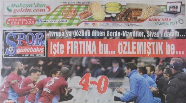 Trabzon'da Yerel Basından Odyakmaz'a Gönderme
