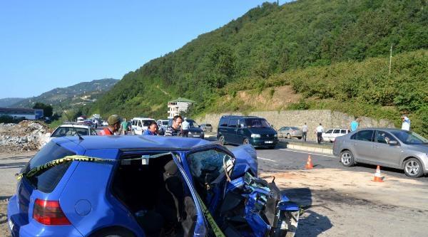 Trabzon'daki Kazada Ölü Sayısı 6'ya Çikti