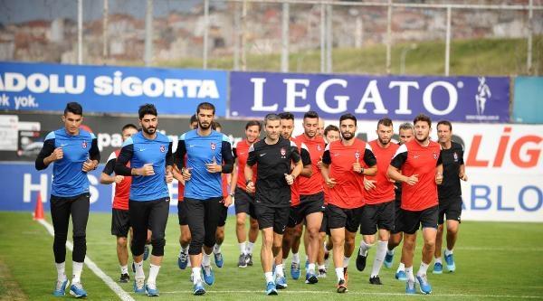Trabzonspor 10 Eksikle Çalişti