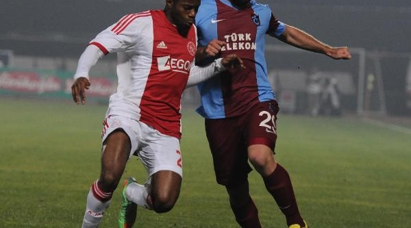 Trabzonspor - Ajax Karşilaşmasi Fotoğraflari -2