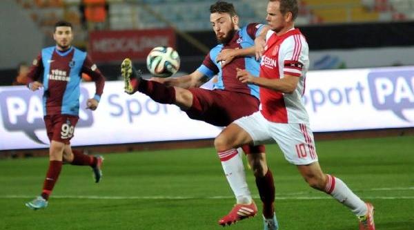 Trabzonspor-Ajax Maçi Fotoğraflari