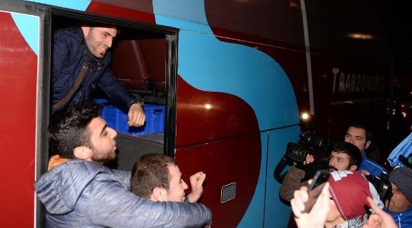 Trabzonspor Antalya'Ya Geldi