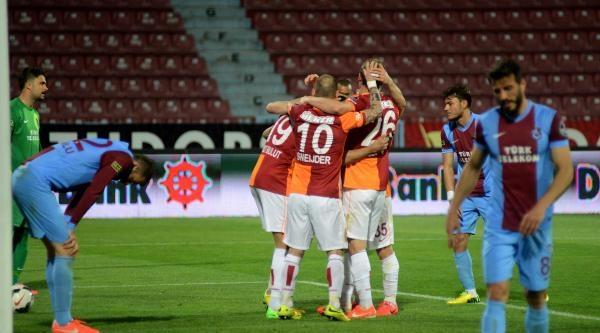 Trabzonspor - Galatasaray Fotoğrafları