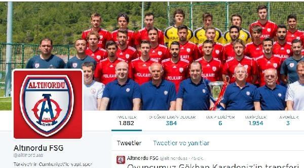 Trabzonspor Gökhan Karadeniz İçin Altınordu Kulübü İle Anlaştı
