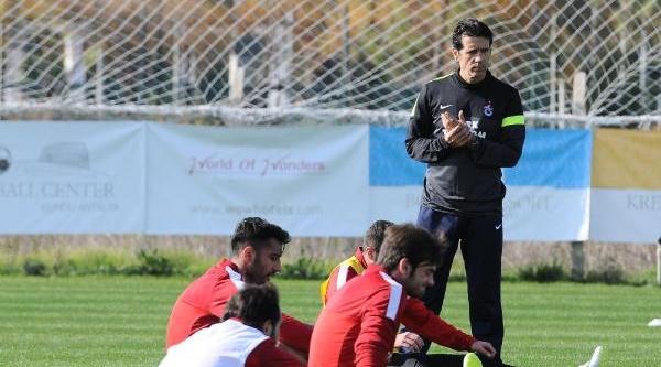 Trabzonspor Hazirliklarini Antalya'da Sürdürüyor