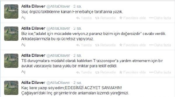 Trabzonspor Hukuk Kurulu Üyesinden Aziz Yıldırım İddiasi