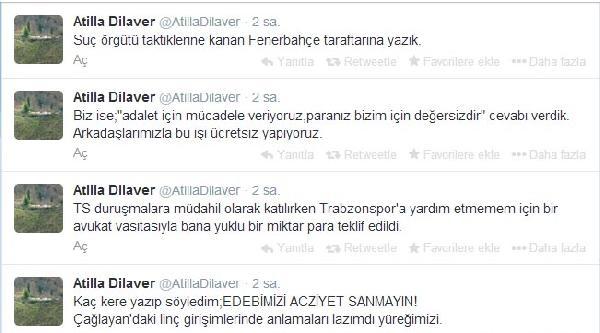 Trabzonspor Hukuk Kurulu Üyesinden Aziz Yıldırım İddiasi (yeniden)