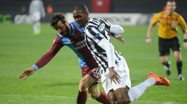 Trabzonspor - Juventus Karşılaşması Fotoğrafları