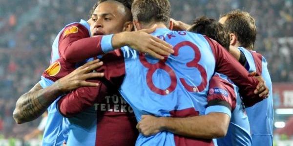 Trabzonspor - Legia Varsova Fotoğraflari