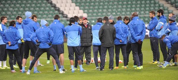 Trabzonspor, Legia Varşova Maçi Hazirliklarini Tamamladi