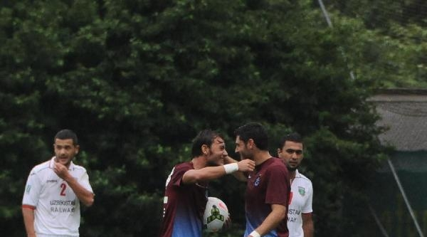 Trabzonspor-lokomotif Taşkent:2-2 (hazırlık Maçı)
