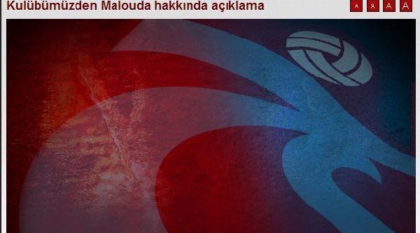 Trabzonspor Malouda'nın Sözleşmesini Feshetti