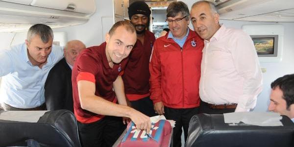 Trabzonspor Polonya'ya Gitti, Haberimize Ek