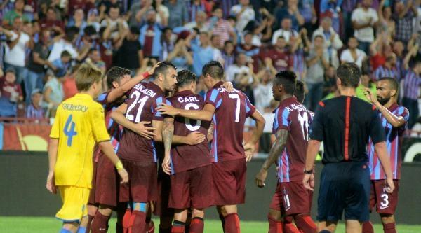 Trabzonspor - Rostov Maçı Fotoğrafları