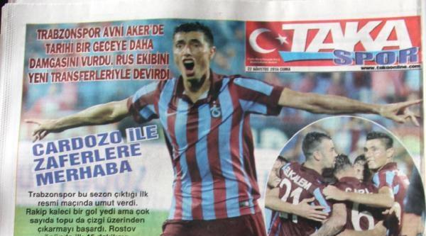 Trabzonspor Soyunma Odasında Halilhodzic Damgasını Vurdu