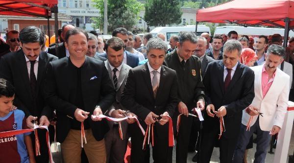 Trabzonspor Teknik Sorumlusu Mandıralı Açılışta