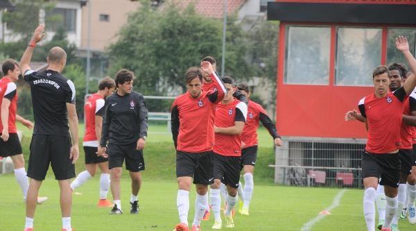 Trabzonspor Yoğun Tempoda Çalişiyor