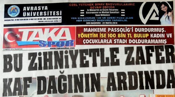 Trabzonspor'da Büyük Şok