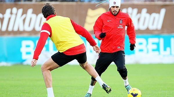 Trabzonspor'da Galatasaray Maçi Hazirliklari Sürüyor