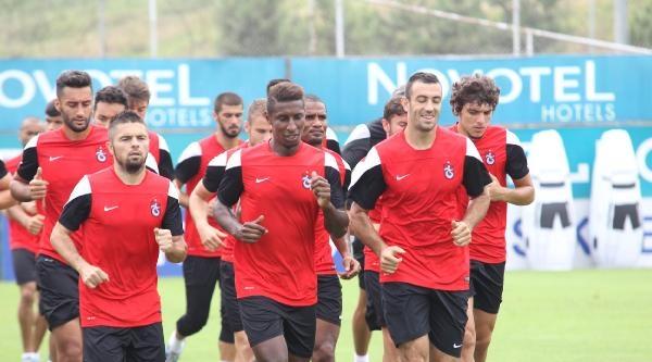 Trabzonspor'da Halilhodzic'siz Antrenman