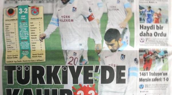 Trabzonspor'Da Hayal Kirikliği