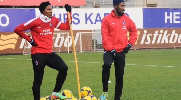Trabzonspor'Da Hirsli Antrenman