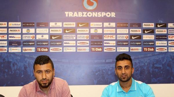 Trabzonspor'da İki İmza