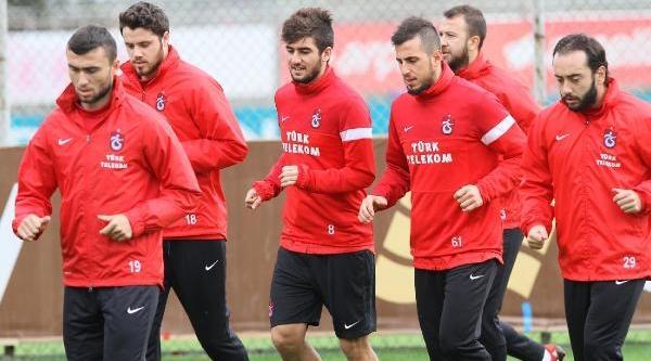 Trabzonspor'Da Kaptan Onur Hirs Yapti