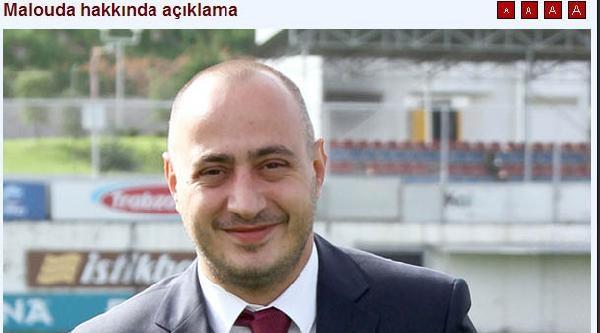 Trabzonspor'da Malouda Kadro Dışı Bırakıldı