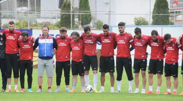 Trabzonspor'da Soma Faciası İçin Saygı Duruşu