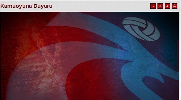 Trabzonspor'dan Ceza Açıklaması: Cas'ın Fenerbahçe Kararını Da Yayınladı