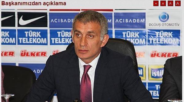 Trabzonspor'dan Fenerbahçe Yalanlaması