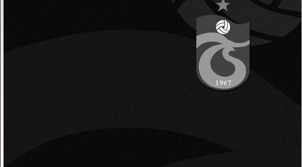 Trabzonspor'dan Tolga'ya Başsağliği Mesaji