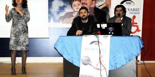 Trabzonsporlu Onur'dan Engellilere Destek