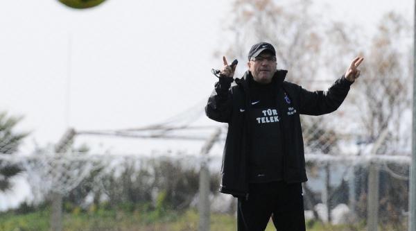 Trabzonspor'un Devre Arasi Kampi Başladi