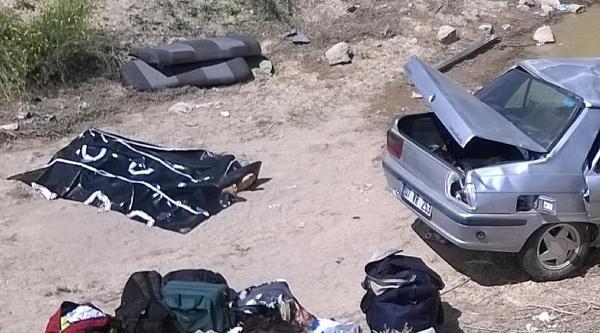 Trafik Büro Amiri Ve 3 Yakını Kazada Öldü, 3 Yaralı Var (2) - Yeniden