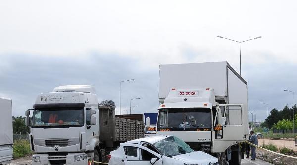 Trafikten Kurtulmak İsterken Canından Oldu