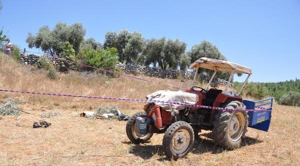 Traktör Tarlaya Devrildi: 1 Ölü, 4 Yaralı