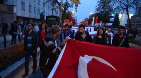 Trakya Soma'da Ölen İşçiler İçin Yürüdü