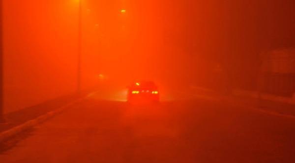 Trakya Yoğun Sis, Görüş 10 Metreye Kadar Düştü