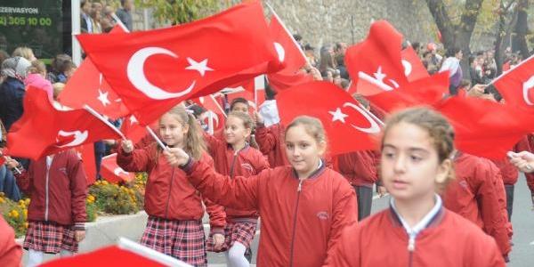 Trakya'Da 29 Ekim Coşkusu
