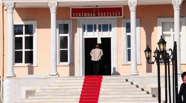 Trakya'da Başbakan Hazirliği